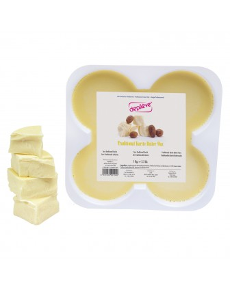 Ceara traditionala de epilare Depileve Karite Butter Wax 500gr