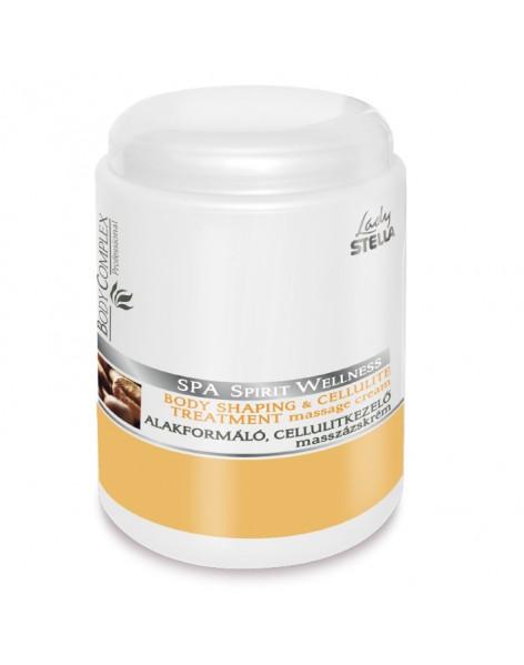 Crema de Masaj pentru Tratamentul Anticelulitic si Remodelare Corporala Stella 1000 ml